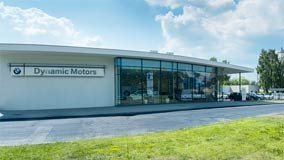 Dealer BMW Dynamic Motors Toruń.